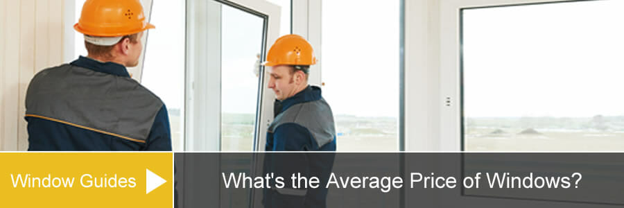 Average price of window installation