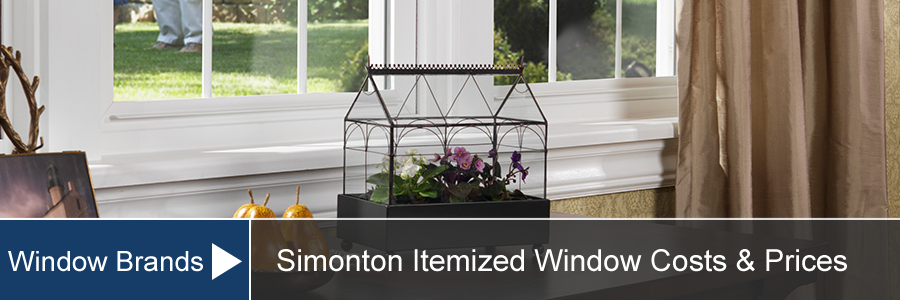 Simonton Window Prices Costs For Installation And Supply