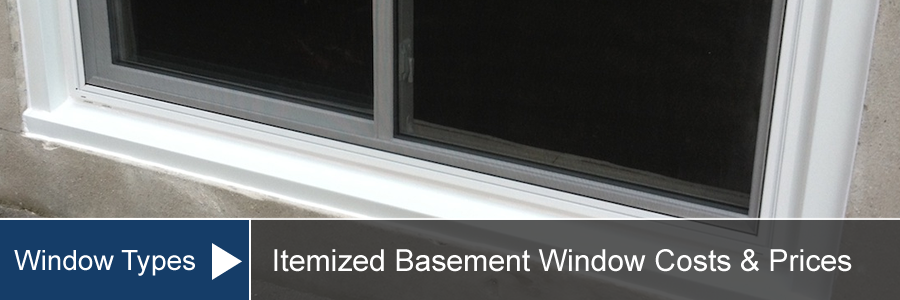 Basement Window Cost For Install Amp Replacement
