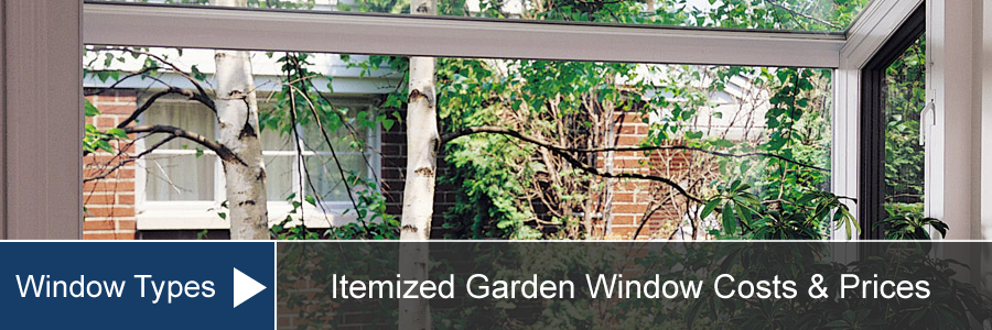 Garden Window Cost For Install Amp Replacement