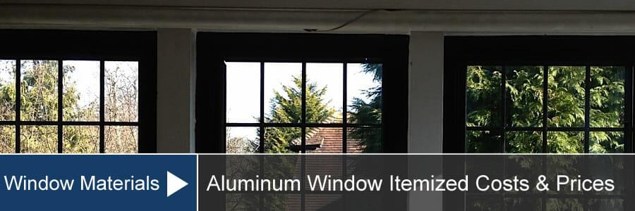 Aluminium Window Cost Prices For Installation