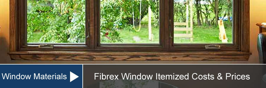 Fibrex Window Cost Amp Prices For Installation