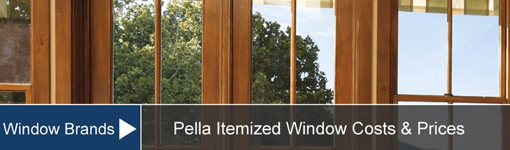 Pella Window Prices Costs Supply Installation
