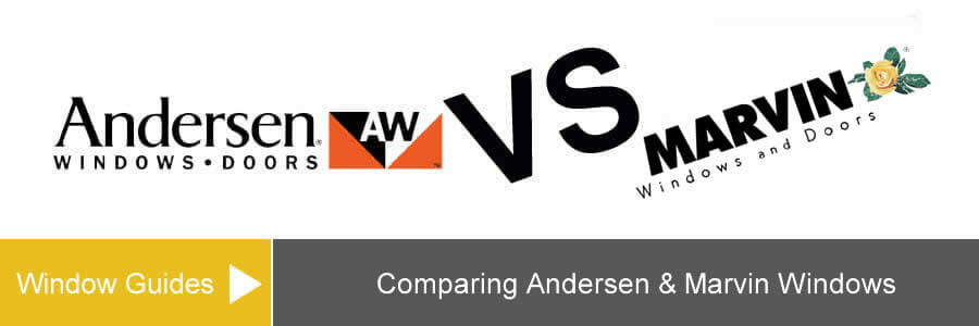 Comparison of Marvin Vs Andersen Windows Cost & Series