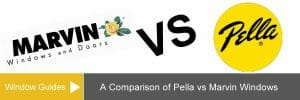 Comparing Pella vs Marvin Windows Costs & Series