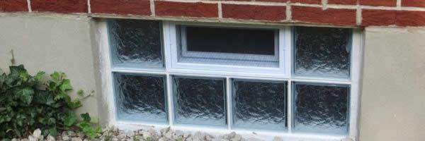 Glass Block Basement Window